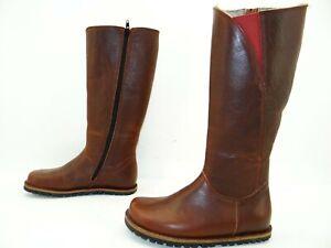 Waldviertler Warmer Wind Stiefel Boots Stiefelette Schuhe Leder Gr.36 Rost
