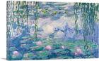 ARTCANVAS Waterlilies 1916-1919 Canvas Art Print by Claude Monet