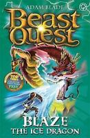 Blaze the Ice Dragon (Beast Quest), Blade, Adam, Very Good Book