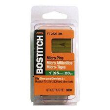 BOSTITCH PT-2325-3M 1-Inch 23 Gauge Headless Pin (3000 per Box)