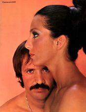 SONNY & CHER 1972 U.S. TOUR CONCERT PROGRAM BOOK / NEAR MINT 2 MINT