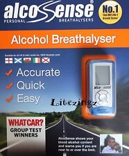 AlcoSense Pocket Alcohol Digital Breathalyser Straws Battery UK Scotland Ireland