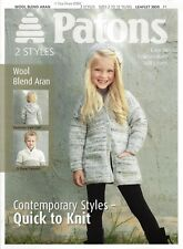 VAT Free Hand Knitting PATTERNS ONLY Patons Childrens Guernsey Sweaters 3850 New