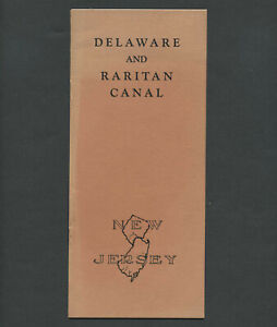 1937 DELAWARE & RARITAN CANAL COMMISSION Proposal: Re-open Intracoastal Waterway