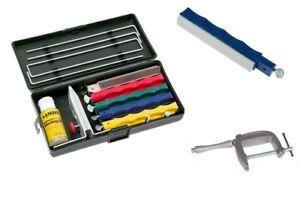 Lansky Professional Knife Sharpening System Sharpener LKCPR + C-Clamp + Sapphire