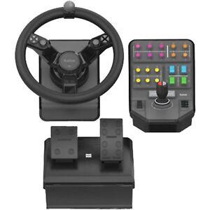 Logitech Gaming G Saitek Farm Sim Controller, Lenkrad, schwarz