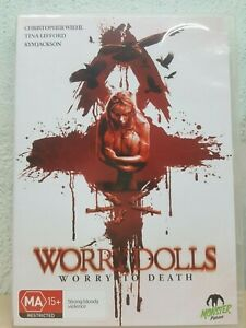 Worry Dolls DVD (original title) RARE HORROR MOVIE aka The Devil's Dolls (2016)