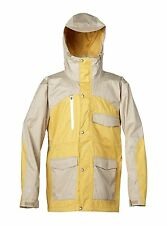 Quiksilver Travis Rice Roger che Da Uomo Snowboard Ski Jacket Coat GIALLO XL 15K