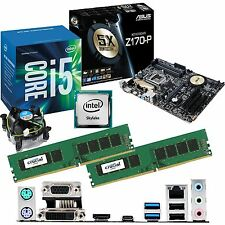 INTEL Core i5 6500 3.2Ghz & ASUS Z170-P & 16GB DDR4 2133 CRUCIAL Bundle