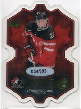 2016-17 Upper Deck Ice World Juniors LC Lawson Crouse Rookie 34/699