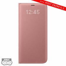 Original Genuine Samsung Galaxy S8+ SM-G955 SM-G955W LED View Wallet Cover Case