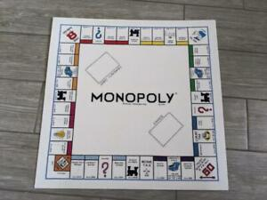 MONOPOLY board game NEEDLEPOINT sewn stitched 20x20 wall hanging POP ART vintage
