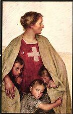 Bundesfeier 1917, versandt in Hundwil