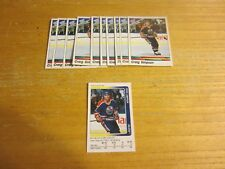 Craig Simpson Lot of 11 Sticker Trading Cards NHL Hockey Edmonton Oilers