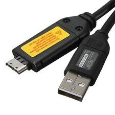 Cable de sincronización de datos Carga USB 2.0 para cámara de Cámara Samsung ST61 ST65 ST70 PL120