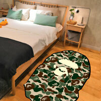 +Home BAPE A Bathing Ape Door Rug Carpet Floor Mat Bedroom Anti-Slip Living Room