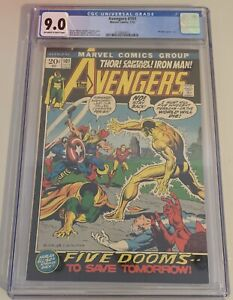 Avenger 101 CGC 9.0 Marvel Comics