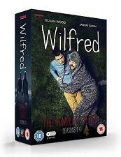 Wilfred . The Complete US Series . Seasons 1 2 3 4 . Elijah Wood . 8 DVD . NEU