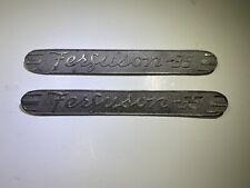 Vintage Ferguson Tractor Side Emblems Ferguson 35 Authentic Parts