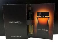 Dolce and Gabanna ~ THE ONE MEN ~ EDP Cologne Perfume Sample SPRAY VIALS x ~3~