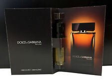 Dolce and Gabanna ~ THE ONE MEN ~ EDP Cologne Perfume Sample SPRAY VIALS x ~3~