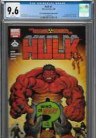 Incredible Hulk 1 CGC 9.6 Atomic Hero Comics Variant 1st Red Hulk McGuinness