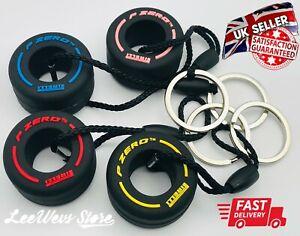 F1 Key Ring Formula 1 Tyre Keyring Motorsport Pzero Pirelli