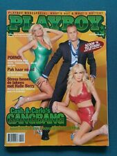 Dutch Playboy Magazine 2003-10 Brigitta Callens, Elena & Diana, Maryeva Oliveira