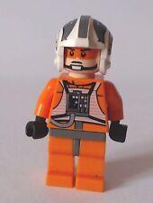 LEGO Star Wars Mini Figure X-Wing Pilot X-Wing Fighter Zev Senesca