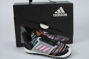 NIB! Adidas UltraCrib Baby Shoes sz 1K-3K EE8796 black blue Training sneakers
