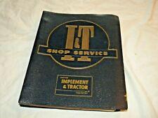 Massey-Ferguson I&T Shop Service Manual
