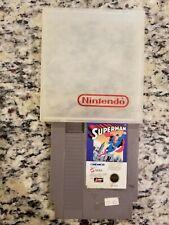 Superman [ Nintendo ] NES ** Authentic ** Cartridge NO MANUAL FREE SHIPPING