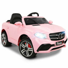 Kids Ride On Car MERCEDES BENZ GLE63 Replica Electric Toys Cars Remote Pink