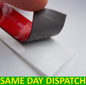 3M™ Double Sided Sticky Pad Strips, Strong Heavy Duty Mounting Adhesive Tape