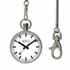 Mondaine Evo Pocket 43mm Reloj de Bolsillo Unisex (A660.30316.11SBB)
