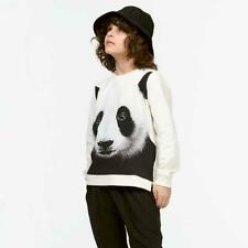 NEW MOLO Marlee Panda Pullover Sweatshirt Top Shirt Girls sz 152 12 TWEEN
