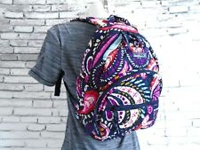 NWT Vera Bradley ESSENTIAL COMPACT BACKPACK Travel Purse Bag PAINTED PAISLEY