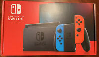 *Ships Fast!* Nintendo Switch w/ Neon Red and Neon Blue Joy-Con V2 *BRAND NEW*