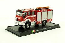 Giant Fire Truck FIRETECH 4000-1999 IVECO MARIGUS Italy Diecast Model 1/64 No 10