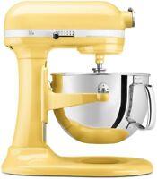 KitchenAid RKP26M1Xmy Pro 600 Stand Mixer 6 qt Majestic Yellow Large Capacity