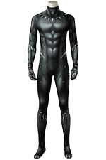 2018 Black Panther T'Challa Costume Wakanda King Cosplay Jumpsuit Fancy Dress