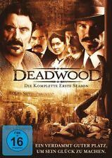 DEADWOOD S1 (TIMOTHY OLYPHANT, IAN MCSHANE, MOLLY PARKER,..) 4 DVD NEU