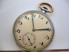 orologio da tasca ZENITH del 1930 ca. cassa in acciaio perfettamente funzionante