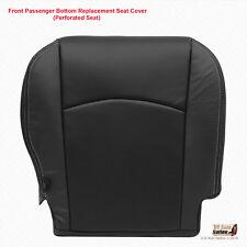 2009-2010 Dodge Ram 1500 Laramie PASSENGER Bottom Leather Seat Cover Dark Gray