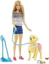 Mattel Barbie Spielset Hundespaziergang Stubenreines Hündchen DWJ68 NEU OVP