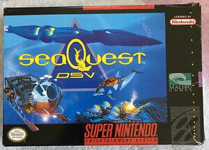 seaQuest DSV Super Nintendo SNES Genuine Original Box - No Game Or Manual