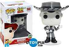 FUNKO POP! DISNEY TOY STORY: B&W Woody #168 20th Anniversary Exclusive-FUN11889