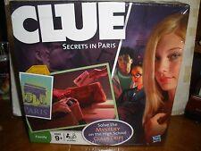NEW Clue Secrets in Paris Mystery High School Game Hasbro