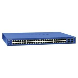 Netgear ProSafe 24+4 Smart Switch With PoE FS728TPv2 Refurbished.