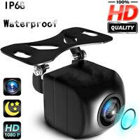 IP68 170° Car Rear View Backup Camera Parking Reverse Cam Night Vision HD 1080p